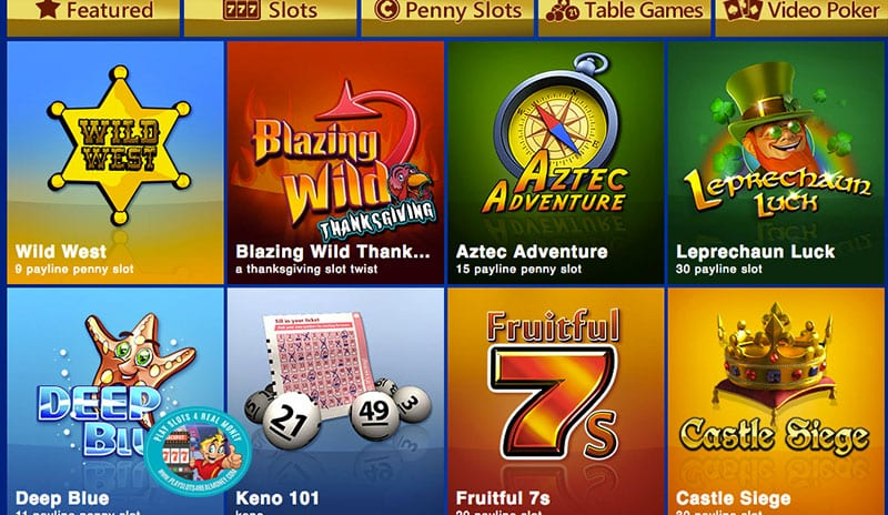 Featured Casino Games