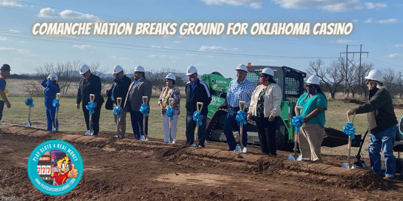 Comanche Nation Breaks Ground For Oklahoma Casino