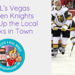 NHL's Vegas Golden Knights Beat Up the Local Books in Town