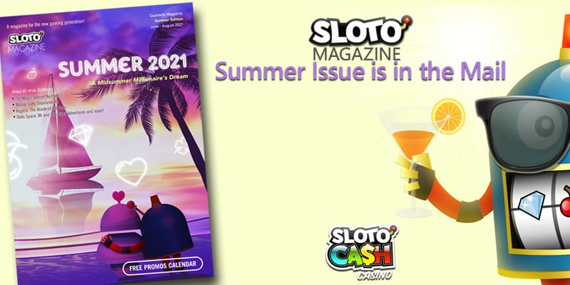 Slotocash offers their free magazine, free spins offers, bonuses, contests, puzzles, and more
