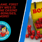New RTG Game, First and Ten BY WGS Is Live, Online Casino Welcome Bonuses, and More!