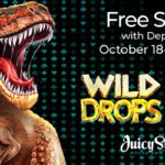 Free Spins Week Includes Online Pokies With Diamonds and Dinosaurs