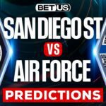 San Diego State Aztecs vs Air Force Falcons Betting Picks, Predictions Odds & Lines